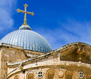 st saint sepulcre Jerusalem chrétien croix pèlerinage terre sainte