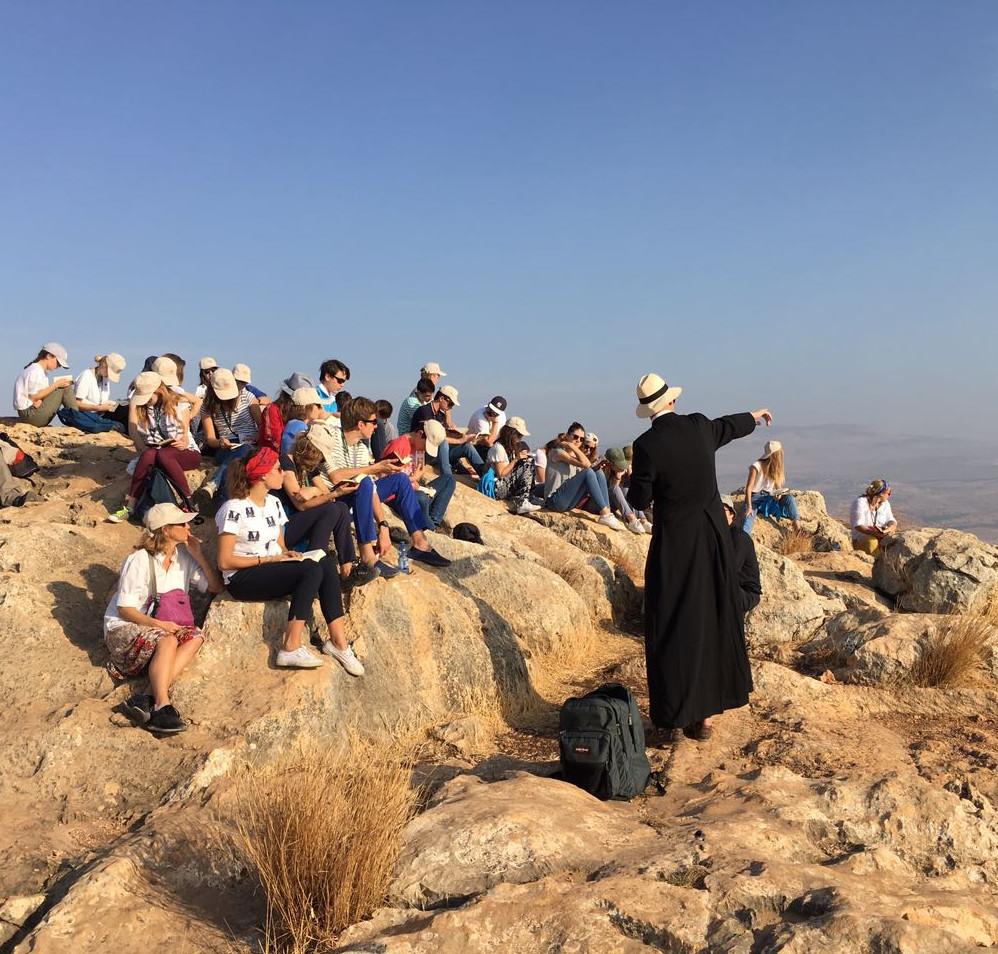 prière desert groupe écoles ecole pèlerinage lycées lycee