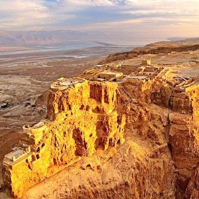 Massada desert terre sainte israel forteresse visite groupe