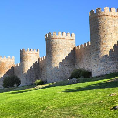 muraille_avila_ Espagne Europe pèlerinage