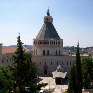 Nazareth Annonciation Terre Sainte Israël pèlerinage groupe