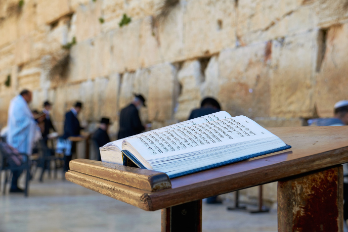 pèlerinage groupe juif jerusalem