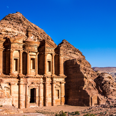 Petra Jordanie Pelerinage Terre Sainte Groupe