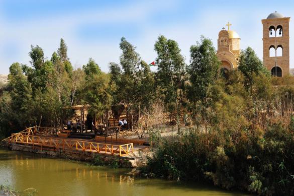 Qasr El Yahud Bapteme Baptême Terre Sainte pèlerinage groupe voyage
