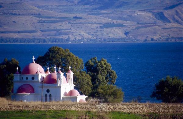Lac Tibériade Israël Terre Sainte pèlerinage groupe voyage
